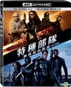 G.I. Joe: The Rise of Cobra (2009) (4K Ultra HD + Blu-ray) (2-Disc Edition) (Taiwan Version)