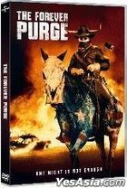 The Forever Purge (2021) (DVD) (Hong Kong Version)