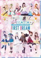 2.5 Jigen Dance Live Tsukiuta. Stage Girl's Side Megasta ' First Dream - Anata to Mill Hajimete no Yume (Blu-ray) (Japan Version)