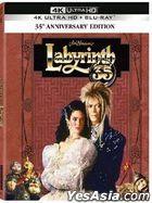 Labyrinth (1986) (4K Ultra HD + Blu-ray) (35th Anniversary Edition) (Hong Kong Version)
