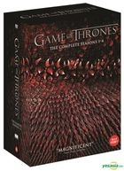 Game of Thrones Season 1 - 4 (DVD) (20-Disc) (Outbox) (Limited Edition) (Korea Version)