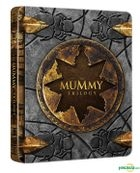 The Mummy Trilogy (Blu-ray) (3-Disc) (Steelbook Limited Edition) (Korea Version)