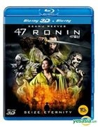 47 Ronin (Blu-ray) (3D + 2D) (Normal Edition) (Korea Version)