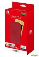 Nintendo Switch Lite Slim Hard Pouch (Red) (Japan Version)