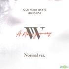 Infinite: Nam Woo Hyun Mini Album Vol. 3 - A New Journey (Normal Version) + 2 Posters in Tube