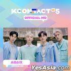 AB6IX - KCON:TACT HI 5 Official MD (Behind Photo Card Garland)