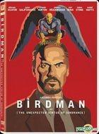 Birdman (2014) (DVD) (Hong Kong Version)