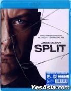 Split (2016) (Blu-ray) (Hong Kong Version)