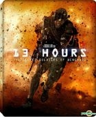 13 Hours: The Secret Soldiers of Benghazi (2016) (Blu-ray) (2-Disc Edition) (Steelbook) (Hong Kong Version)
