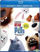 The Secret Life of Pets (2016) (Blu-ray + DVD + Digital HD) (US Versioin)