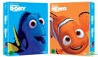 Finding Nemo + Finding Dory (Blu-ray) (3-Disc) (Korea Version)