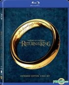 The Lord Of The Rings III : The Return Of The King (2003) (Blu-ray) (Extended Edition) (Hong Kong Version)