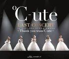 C-ute Last Concert In Saitama Super Arena - Thank You Team C-ute - [BLU-RAY] (Normal Edition)(Japan Version)