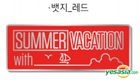 Summer Vacation With EXO-CBX Official Goods - Badge (Red)