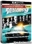 F9狂野时速 (2021) (4K Ultra HD + Blu-ray) (Steelbook) (导演版) (香港版)