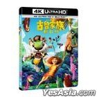 The Croods: A New Age (2020) (4K Ultra HD + Blu-ray) (Taiwan Version)
