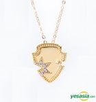 Beast x Javisi Collaboration Jewelry Starshield Necklace (Yellow Gold)