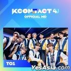 TO1 - KCON:TACT 4 U Official MD (Fabric Poster)