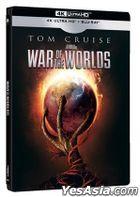 War Of The Worlds (2005) (4K Ultra HD + Blu-ray) (Steelbook) (Hong Kong Version)