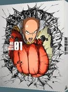 One Punch Man Vol.1 (Blu-ray+CD) (Limited Edition)(Japan Version)