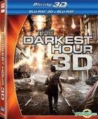 The Darkest Hour (2011) (Blu-ray) (2D + 3D) (Hong Kong Version)