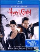 Hansel And Gretel: Witch Hunters (2013) (Blu-ray) (Hong Kong Version)