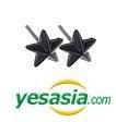 EXO Style - All Star Earrings (Black)