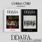 Golden Child Vol. 2 Repackage - DDARA (A + B Version) + 2 Mini Poster Sets + 2 Posters in Tube