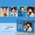 SHINee - DIY Cubic Painting (Canvas + Photo Card + Poster) (Key)