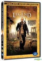 I am Legend (DVD) (Standard Edition) (Korea Version)