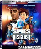 Spies in Disguise (2019) (Blu-ray + DVD + Digital) (US Version)
