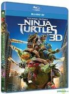 Teenage Mutant Ninja Turtles (2014) (Blu-ray) (3D) (Hong Kong Version)