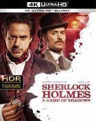 Sherlock Holmes: A Game of Shadows (4K Ultra HD + Blu-ray) (Japan Version)