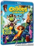 The Croods: A New Age (2020) (Blu-ray) (Hong Kong Version)