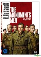 The Monuments Men (2014) (DVD) (Korea Version)