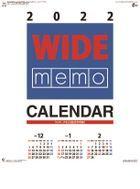 Wide Memo 2022 Calendar (Japan Version)