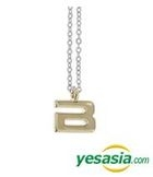 Big Bang Style - Initial Necklace (Gold / Large)