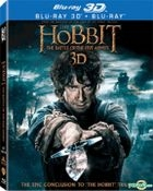 The Hobbit: The Battle of the Five Armies (2014) (Blu-ray) (2D + 3D) (4-Disc) (Lenticular) (Hong Kong Version)