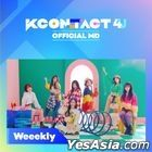 Weeekly - KCON:TACT 4 U Official MD (Fabric Poster)