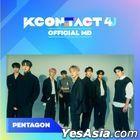Pentagon - KCON:TACT 4 U Official MD (Film Keyring)