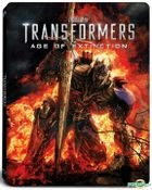 Transformers: Age of Extinction (2014) (Blu-ray) (3D + 2D + Bonus Disc) (SteelBook) (Hong Kong Version)