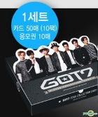 GOT7 Star Collection Card Set (10-Pack)