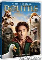 Dolittle (2020) (DVD) (Hong Kong Version)