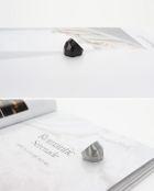 EXO & Kim Jun Su (JYJ) Style - Luxury Volumes Ring (Anodized) (US Size: 6 - 6 1/2)