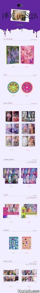 Purple Kiss 2ndミニアルバム - HIDE & SEEK (HIDE Version)