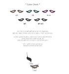 The Heirs (SBS TV Drama) : Krystal Style - Black Wings Earrings (Black Gold)