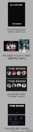 BLACKPINK 2021 [THE SHOW] (2DVD + Photobook + Frame Photo Set + Magnet Set + Photo Cards + Sticker + Poster) (Korea Version)