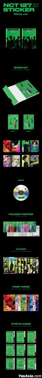 NCT 127 Vol. 3 - STICKER (Sticky Version)