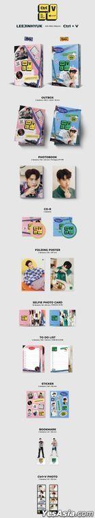 Lee Jin Hyuk Mini Album Vol. 4 - Ctrl+V (Note Version)