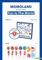 Momoland Mini Album Vol. 4 - Fun to the World
